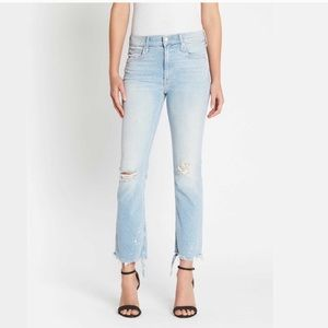 Mother The Dutchie Ankle Distressed Jeans NWT